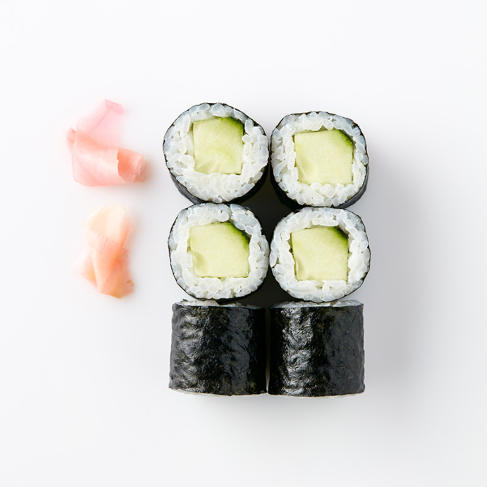 Maki (6 Pieces) – Cucumber