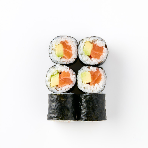 Maki (6 piece) Salmon and Avocado