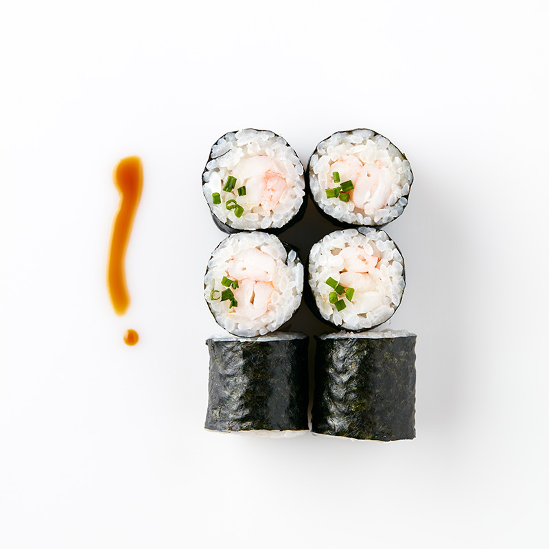 Maki (6 Pieces) Prawn